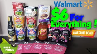 Walmart Grocery Shopping Haul under $10 Couponing