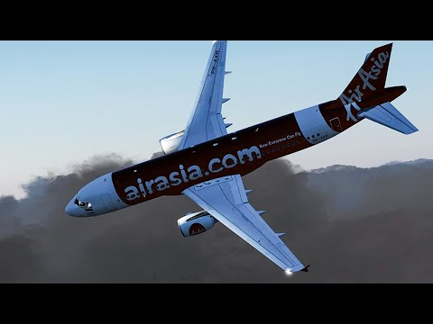 Disaster Over Indonesia | Airbus A320 Crash into the Java Sea | Air Asia Flight 8501