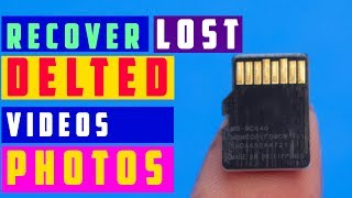 How To Recover LOST, DELETED Photos For Free - Recoverit photo recovery software ✅✅