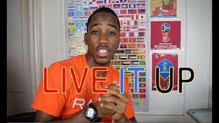 Live It Up (Official Video) - Nicky Jam feat. Will Smith & Era Istrefi (2018 World Cup) REACTION