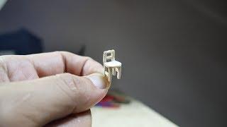كيفية إنشاء صورة مصغرة كرسي من عصا المصاصة قبل AM ديي