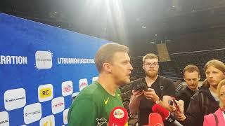 D.Adomaitis prieš rungtynes su Serbija: Jokičius maksimalų kontraktą ne šiaip sau gavo