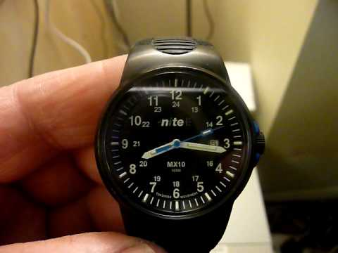 Nite MX10 Mens Watch - YouTube c751d63a09a4