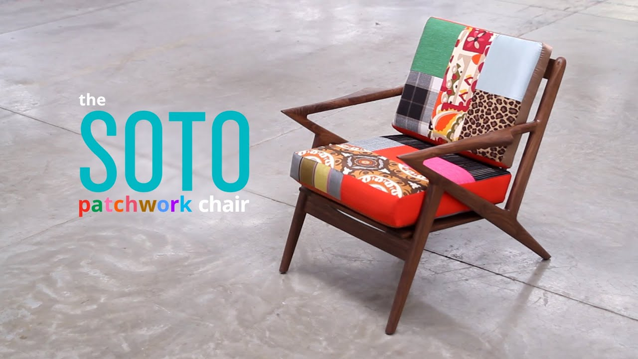 Soto Patchwork Chair By Joybird Furniture
