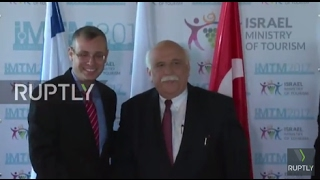 Israel: Turkish tourism minister makes first high-ranking visit to Israel since Mavi Marmara attack