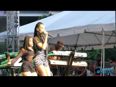 """Brandy performs """"Angel In Disguise"""" live Baltimore AFRAM #CDTBT"""