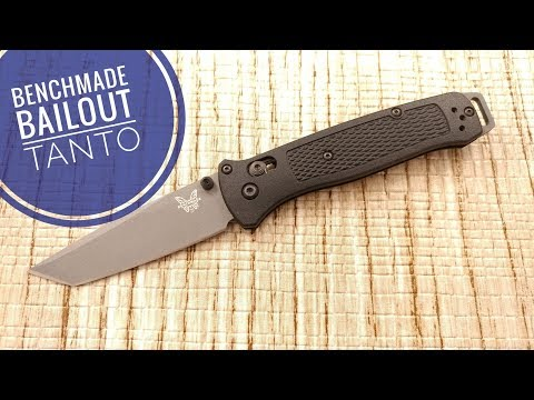 Benchmade Bailout, A Tanto Bugout? Or Truly Its Own Model.