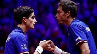 Francia mantiene sus esperanzas en la Copa Davis tras vencer en dobles