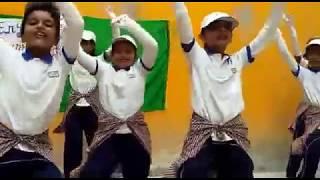 Dance performance on English Lenguge Day mentor - Shekhar bakshi
