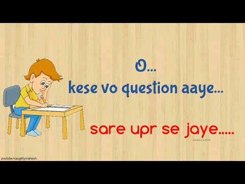 Exam Time Song Funny WhatsApp Status Video