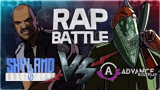 Рэп Баттл - Advance RP vs. Skyland RolePlay