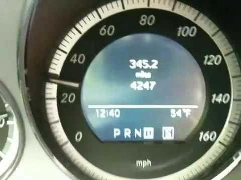 Benz 2010 C350 Sport 0 60