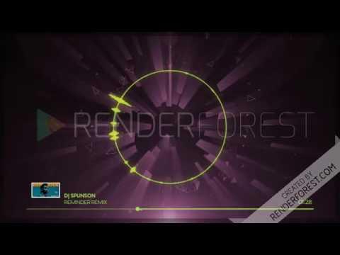 The Weeknd - Reminder Remix -  DJ SpunSon