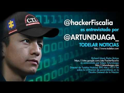 @hackerFiscalia es entrevistado por @ARTUNDUAGA_ de TODELAR Noticias