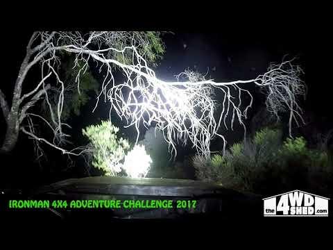 Ironman 4x4 Adventure Challenge 2017 - Winching in the Dark