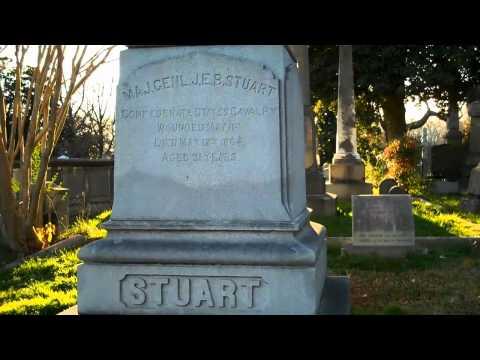 J.E.B. Stuart Grave  Civil War Legend