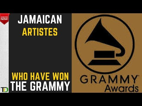 Jamaicans who have won Grammy Awards for Best Reggae Album up to 2017