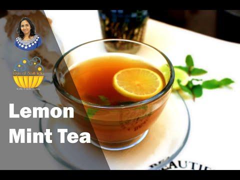 Lemon Mint Tea | Lemon Tea | Herbal Tea | Black Tea