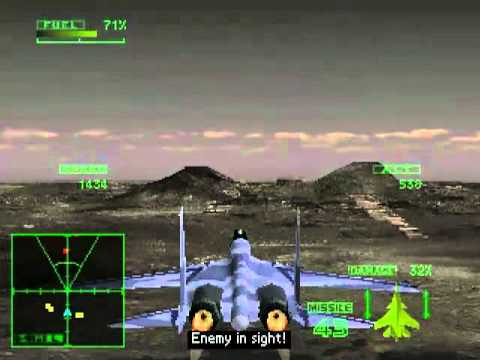 Ace Combat 2 - Final Mission 21 - Fighter's Honor - Hard Level