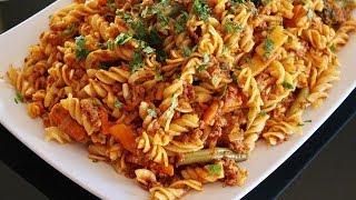 Homemade Easy Pasta Recipe - Afghani Cooking Channel - Macaroni Afghani