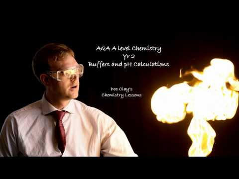 AQA A-level Chemistry - Buffers & pH Calculations