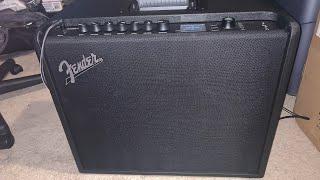 Fender Mustang GT100 Amp Live Unboxing