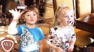 ГАРРИ И ЛИЗА ГАЛКИНЫ: Нам сегодня ровно ПЯТЬ! Подарки от родителей!
