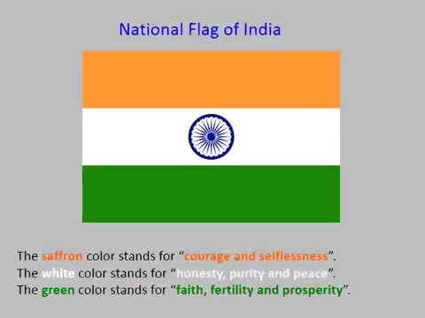 Grade 1 Social Studies Video Tutorial National Symbols Of India