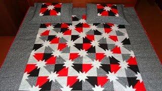 Patchwork - Manta/colcha em patchwork Munique - Patchwork Maria Adna - Manta/colcha patchwork