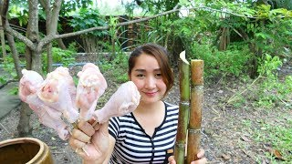 Yummy Drumstick Roasted With Sugar Cane Juice - Drumstick Roasted - Cooking With Sros