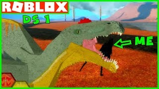 I'm a BABY TREX (NOOB) in Dinosaur Simulator on ROBLOX | YG Family Video Games