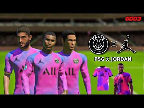 psg x jordan 20 21 4th kit dream league soccer 2021 gamerdude03