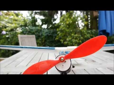 Gummimotorflugzeug Adventure von