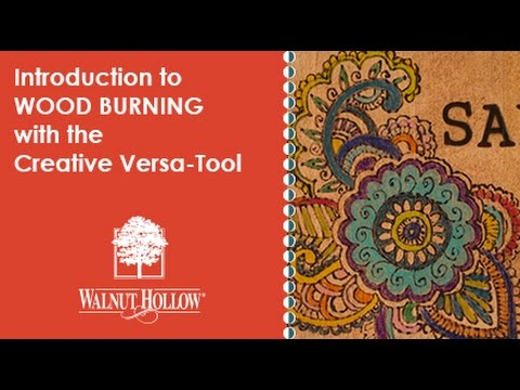 Walnut Hollow® | Wood Burning for Beginners using the ...