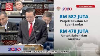 2020 Budget: Sabah, Sarawak remain highest recipients