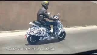 Bajaj electric scooter urbanite testing