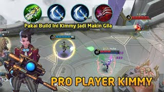 Build and Gameplay Pro Player Kimmy S8 Raze Pakai item Critical di Jamin Perih