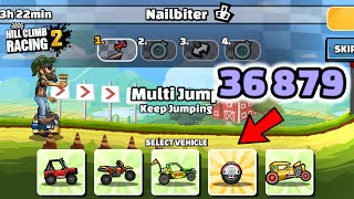 Hill Climb Racing 2 - 36879 points in NAILBITER Team Event