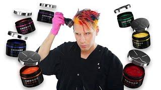 I Tried Tie- Dye Hair Color