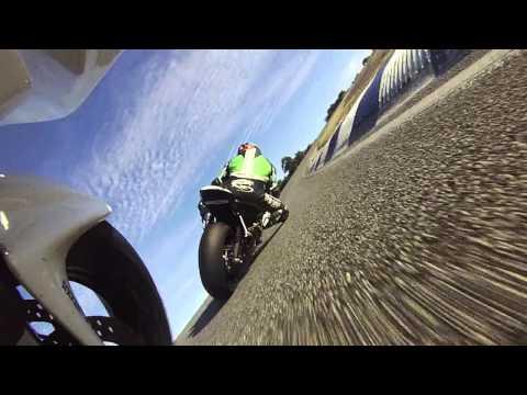 motorcycle race, barbagallo raceway. CBR600RR