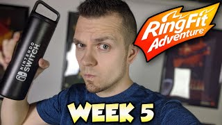 Ring Fit Adventure - WORLD 4: Part 1! 🔴 LIVE with Abdallah! Video