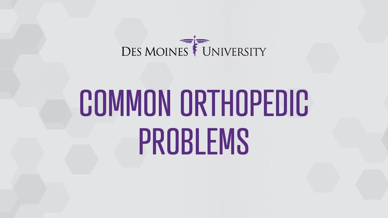 Download Common Orthopedic Problems