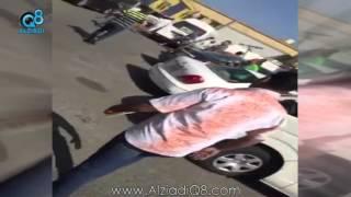 هوشة الشويخ .. مقيمين من الجالية المصرية يعتدون بالضرب على مواطن كويتي
