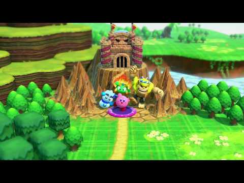 Clash At Castle Dedede. World Of Peace. Dream Land. Story Mode. Kirby Star Allies