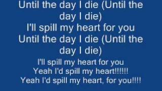 Story Of The Year Till The Day I Die + Lyrics