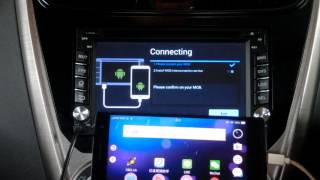 Android Phone Mirror-link To Android Car DVD Player Via Easy Connect