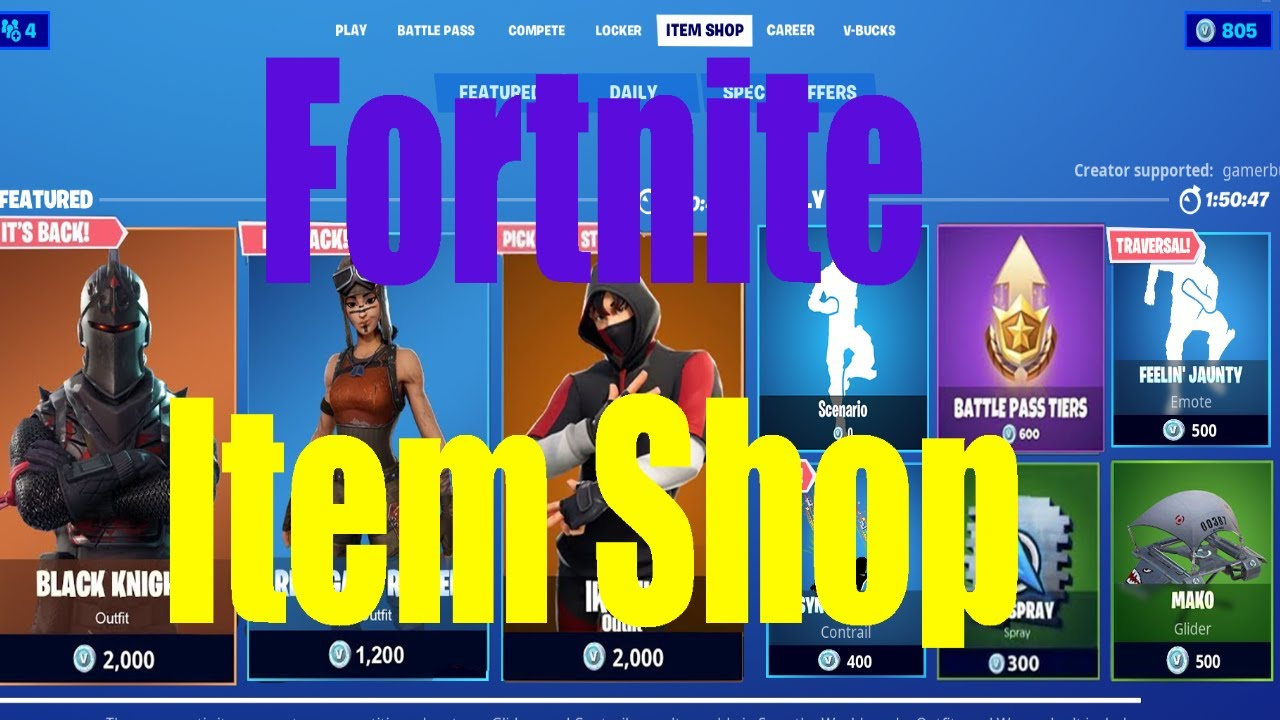 🔴LIVE🔴Fortnite Item Shop Countdown [June 29th, 2020] Road to 500Subs!!!