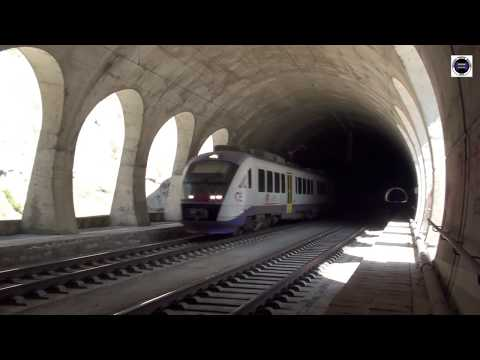 Bridge and tunnel of Tempi - Greece