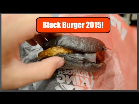 BURGER KING KURO BURGER 2015 | Feed Phoenyx