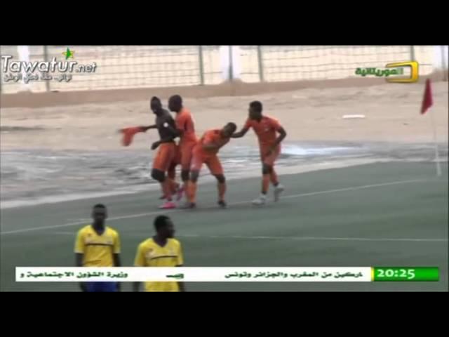النشرة الرياضية على قناة الموريتانية 16-01-2016 , عبدو احمين سالم